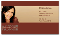 BCR-1013 - realtor business card