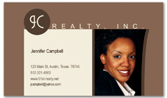 BCR-1025 - realtor business card