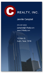BCR-1034 - realtor business card