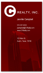 BCR-1035 - realtor business card