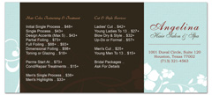 BRS-1027 - salon brochure pricelist