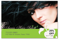 PCS-1016 - salon postcard flyer