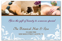 PCS-1056 - salon postcard flyer
