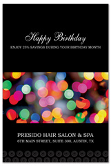 PCS-1062 - salon postcard flyer