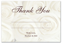 WIR-1013 - wedding thank you and response card