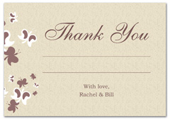 WIR-1025 - wedding thank you and response card