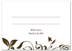 WIR-1041 - wedding thank you and response card