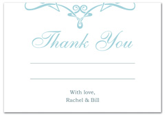 WIR-1058 - wedding thank you and response card