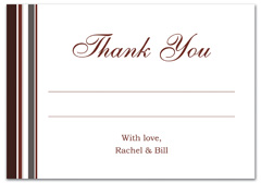 WIR-1094 - wedding thank you and response card
