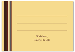 WIR-1095 - wedding thank you and response card