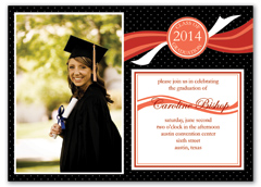 Medical College Blank Graduation Announcement