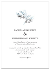 Print Do It Yourself Personalized Wedding Invitation