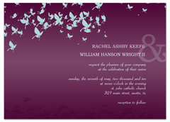 Print Your Own Butterfly Wedding Invitation Ideas